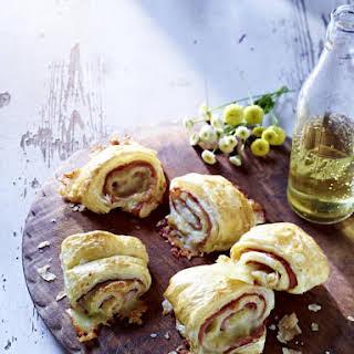Ham & Cheese Puff Rolls.