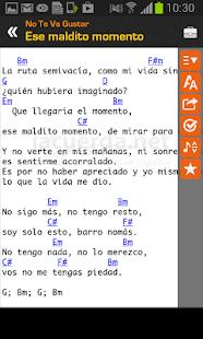 App Tabs & Chords in Spanish APK for Windows Phone