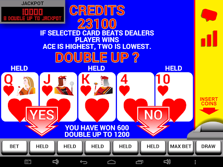 Video Poker with Double Up 8.2 screenshot 227146