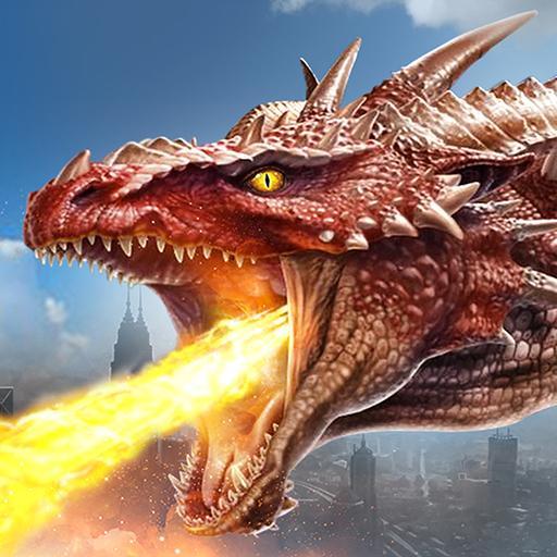 Fire Dragon City Simulator file APK Free for PC, smart TV Download
