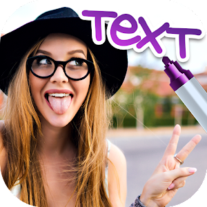 Write text on photos download