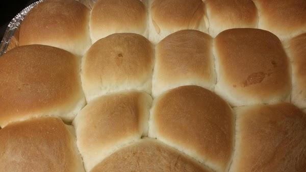 Bread Machine Soft And Buttery Yeast Rolls. Recipe