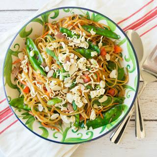 Spicy Asian Pasta Salad Recipe
