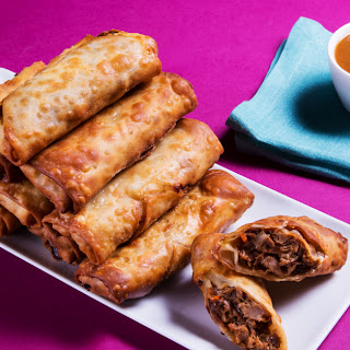 Pulled Pork Egg Rolls