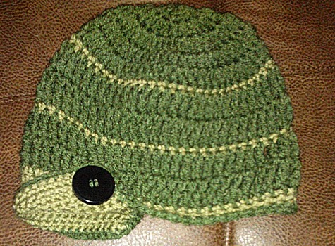 Easy brimmed slouchy hat