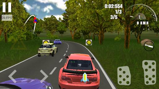 Final Rally: Real Extreme Racing 3D  captures d'u00e9cran 2