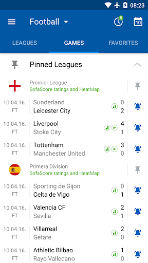 SofaScore - Live Scores, Fixtures & Standings 5.73.8 screenshots 1