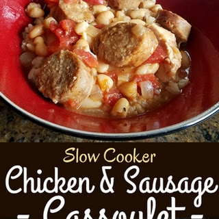 Slow Cooker Chicken and Sausage.