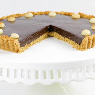 Chocolate Macadamia Nut Tart