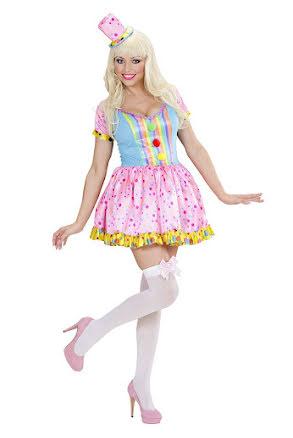 Clownklänning