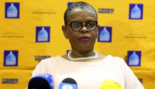 The home of former eThekwini mayor Zandile Gumede was raided on Thursday morning.
