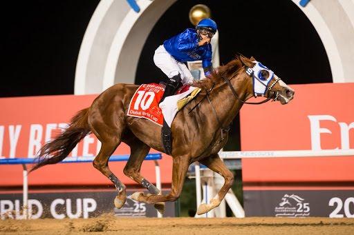 Mystic Guide le dio la novena Dubai World Cup a Godolphin
