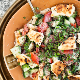 Middle-Eastern Fattoush Salad
