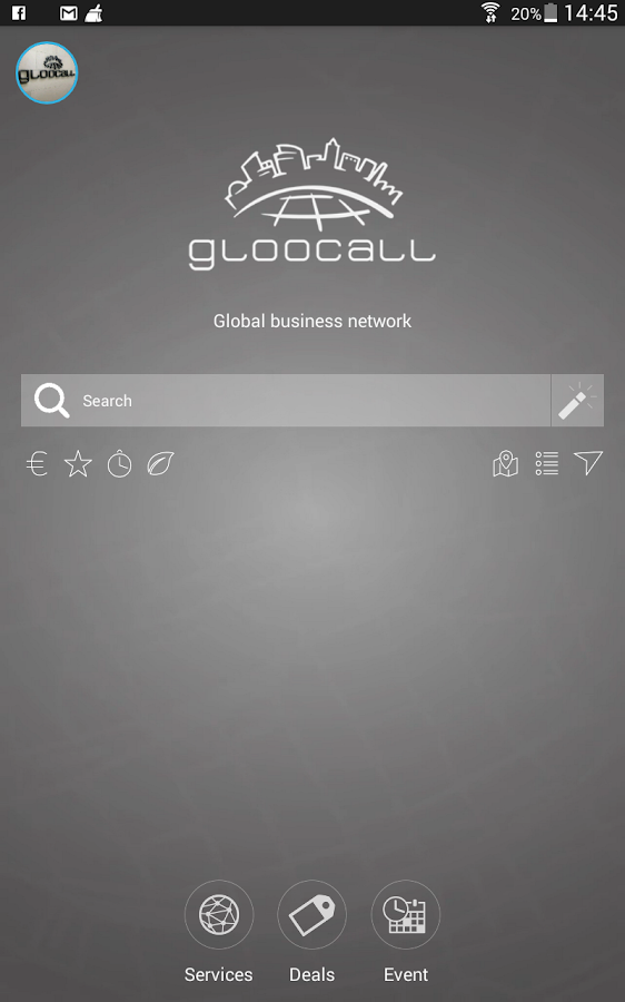 Gloocall Services- screenshot