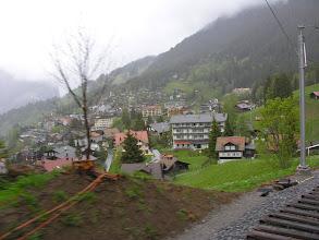 Photo: Kolejką na Kleine Scheidegg