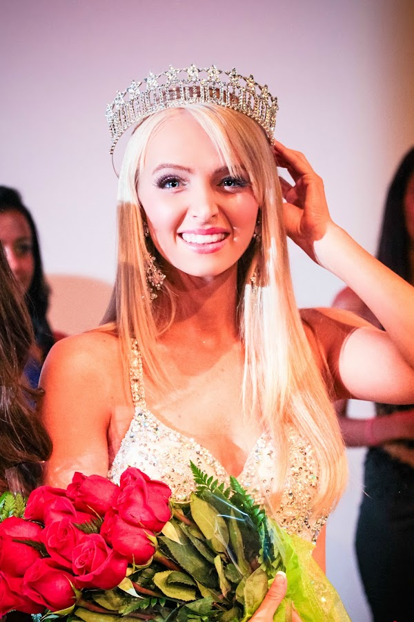 Coronation of a Queen by Mitch Lassiter - People Portraits of Women ( durham, miss usa, queen, crown, smile )