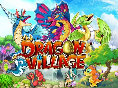 DRAGON VILLAGE -city sim mania MOD (Unlimited Currency) 1