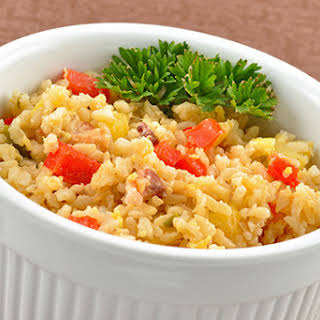 Polynesian-Style Fried Brown Rice.