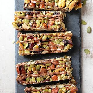 Salted Chocolate Nutty Bars Recipe