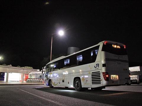 西日本JRバス「グラン昼特急大阪6号」 641-16923 白鳥PAにて_03