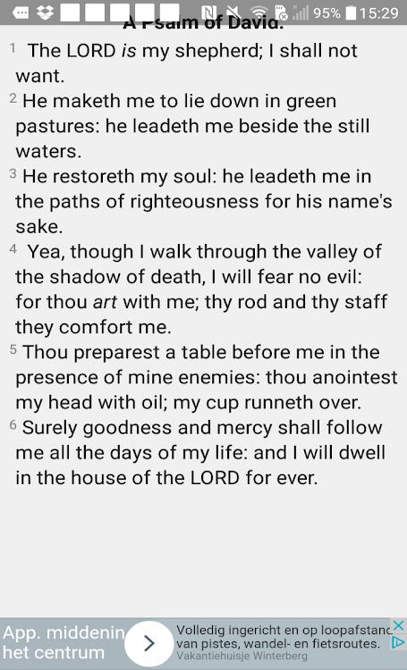 Book Of Psalms - King James (KJV) Offline – (Android Apps