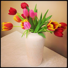 Photo: Tulips for my lovely wife #intercer #tulip #tulips #flower #flowers #beautiful #petal #petals #green #spring #fresh #yellow #blossom #nature #plant #color #pretty #garden #stem #love #flora #flores #instanature #pink #picoftheday - via Instagram, http://instagr.am/p/W7x9o5pftn/