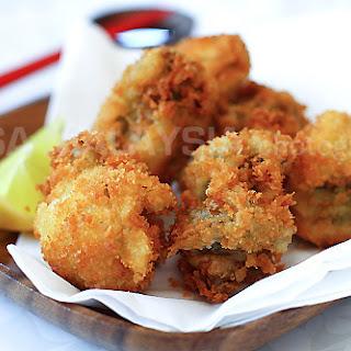 Fried Oysters with Panko (Kaki Furai/Kaki Fry).