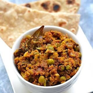 Gobi Matar Keema Recipe - Cauliflower Kheema