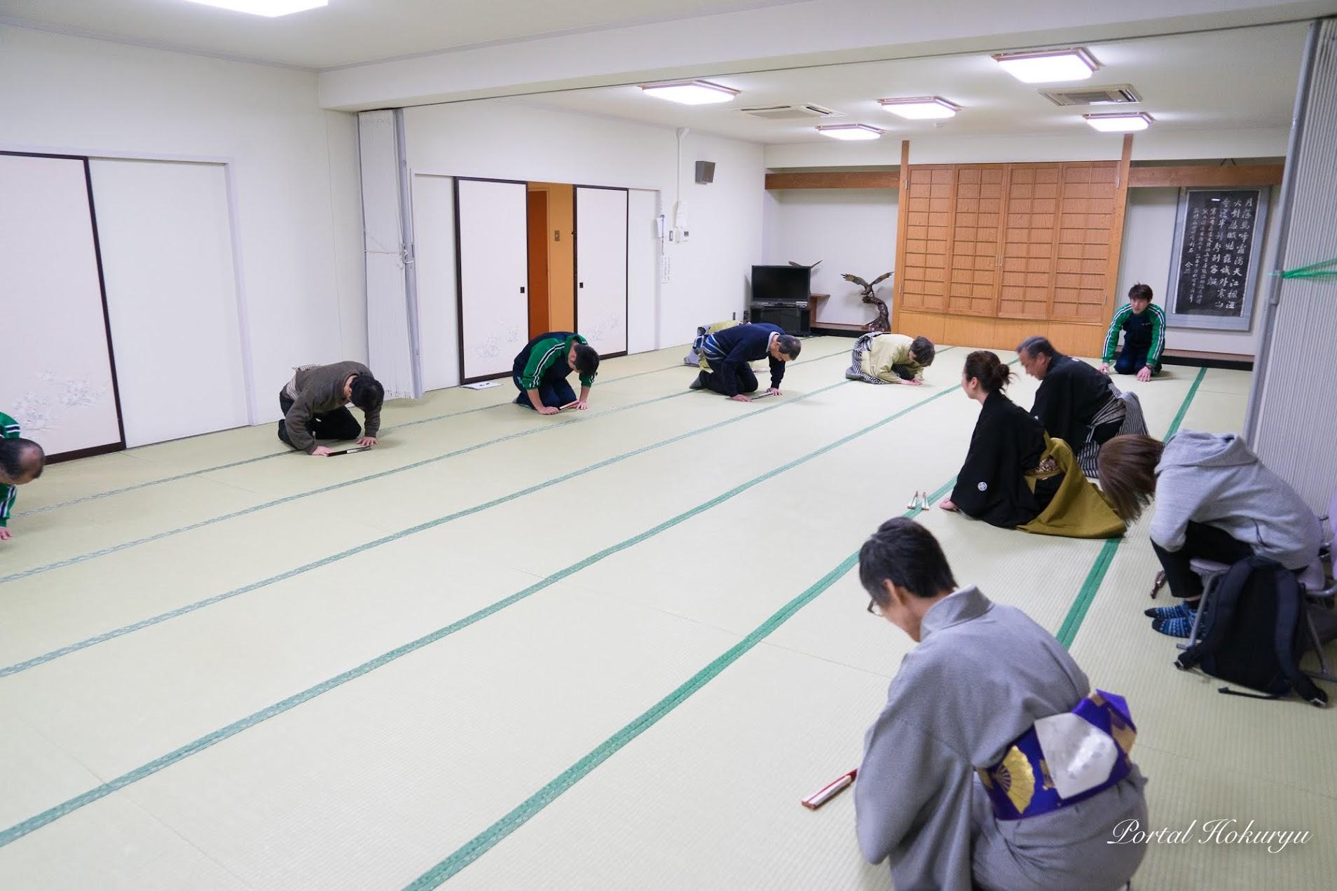 黒田節演技指導