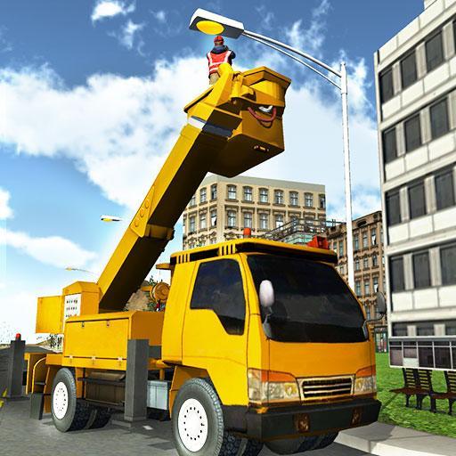 城市服务起重机操作员 模擬 LOGO-玩APPs