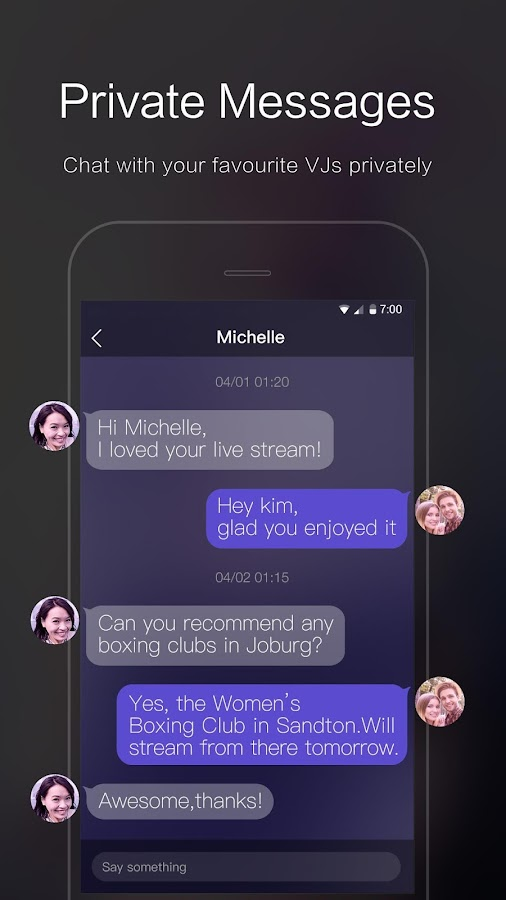 VOOV - Live Stream Yourself Now!- screenshot