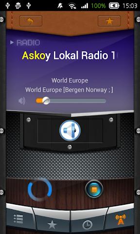 android Radio Norway Screenshot 3