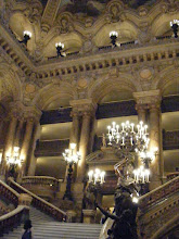 Photo: The Grand Staircase is typical of the Beaux Arts opulence of the interior.