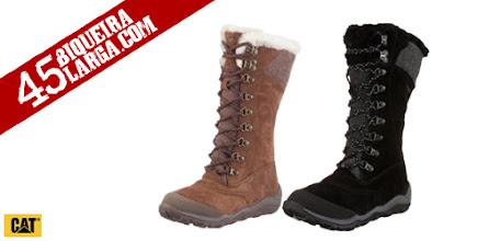 Photo: Estas botas Caribou Cola Fur são as melhores botas de inverno que se pode ter. De cano alto e forrada com faux fur (pele falsa) para proteção e conforto. http://www.45biqueiralarga.com/caribou-cola-fur-para-senhora/