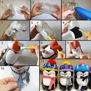 DIY Crafts Plastic Bottles - náhled