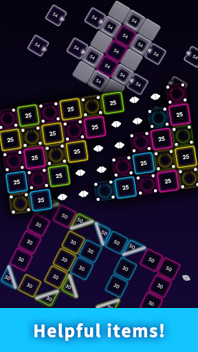 Code Triche Bricks Breaker Neon 9 mod apk screenshots 3