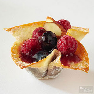 Fruit-Filled Wontons Recipe