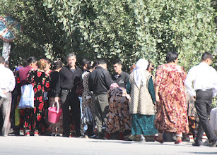 Photo: Day 166 - A Meeting/Pickup/Collection Point On the Way Out of  Samarqand