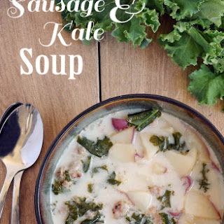 Sausage and Kale Soup.