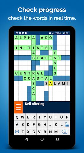Crossword Puzzle Free screenshots 18