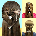 School Girl Hairstyles Step By Step icon