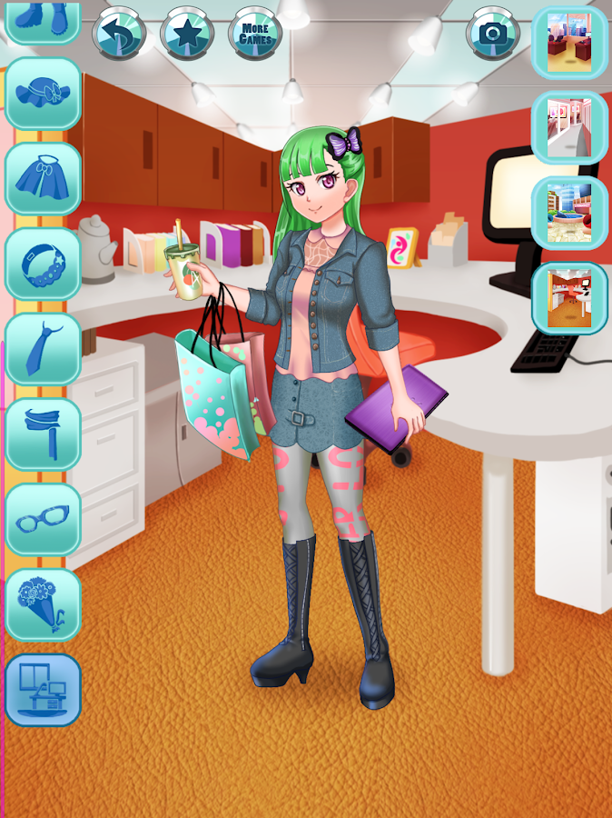 Anime Office Dress Up - Android - 753.3KB