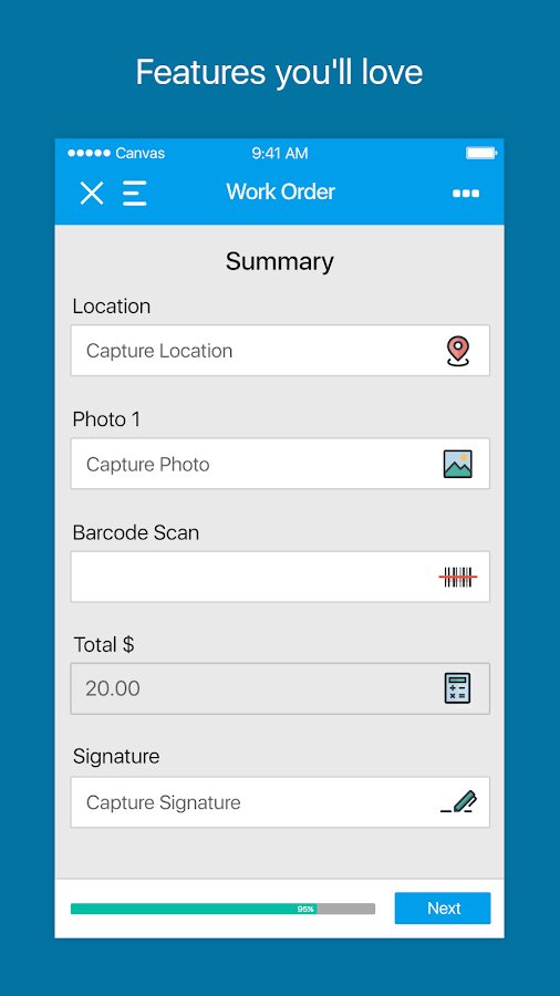 Canvas Business Apps & Forms- screenshot
