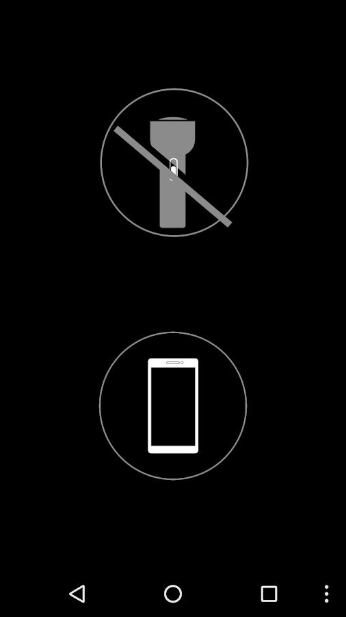 Flashlight Free:No Permissions- screenshot