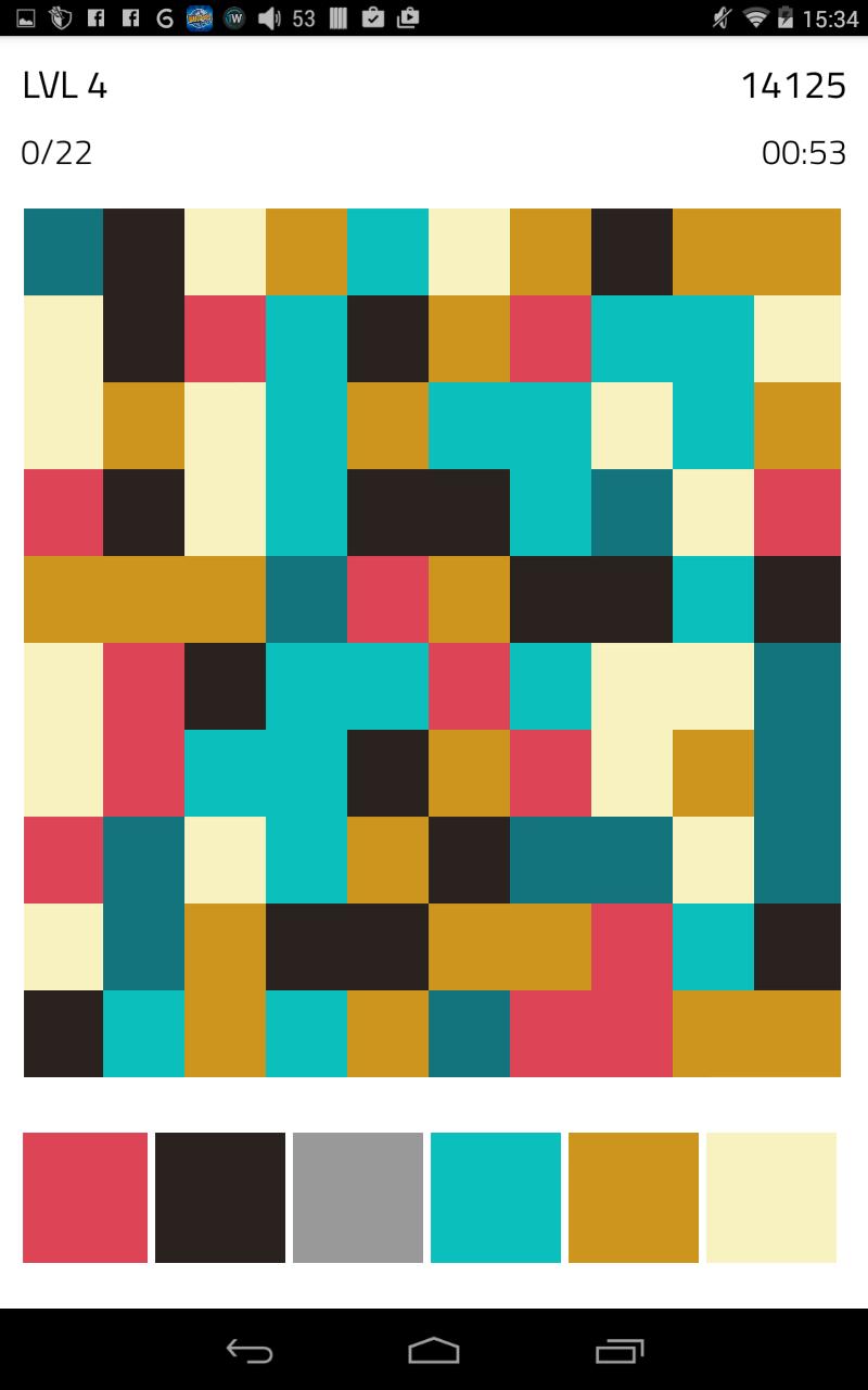 Скриншот Color Flood 2