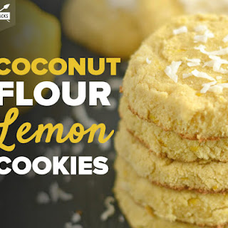 Lemon Coconut Flour Cookies Recipes.