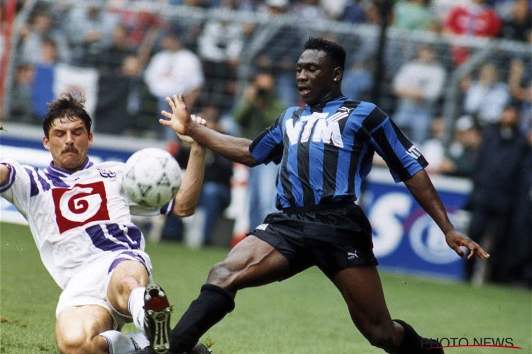 Two legends within the highlight: Daniel Amokachi and Ahmed Hassan, Professional League champions and African champion