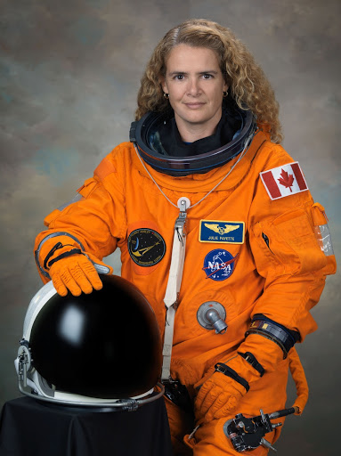 Official Individual ACES suit photo of Julie Payette