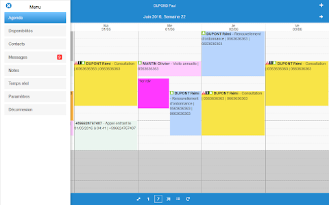 WZ-Agenda Mobile screenshot 8