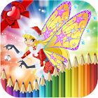 How to Color Winx Club - Colors Book icon